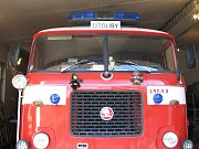 Jedno ze zásahových vozidel SDH Cítoliby