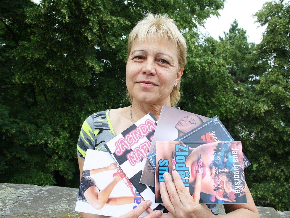 Lounská spisovatelka Jana Javorská.