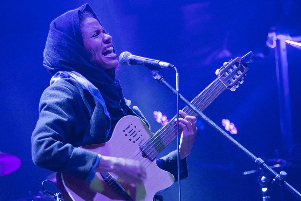 Festival Rock for Churchill 2016 ve Vroutku. Nneka