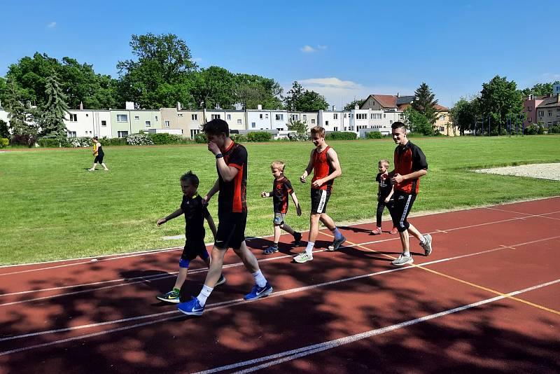 Lounská atletika se znovu ukázala ve výborném světle