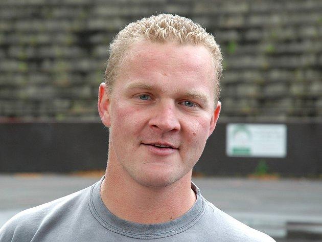Jan Ditrich, kapitán hokejbalistů SHK Louny