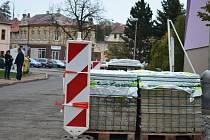 Rekonstrukce podbořanské ulice Kpt. Nálepky.