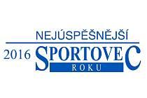 Logo ankety Nejúspěšnější sportovec roku 2016, kterou vyhlašují regionální Deníky