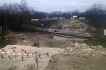 Rekonstrukce mostů v Říční ulici v Lounech