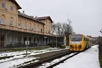 Zámecké nádraží v Teplicích.
