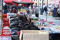 Trhy na žateckém náměstí Svobody