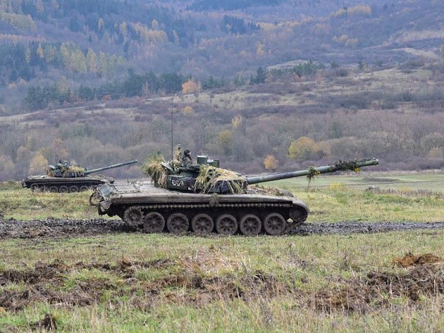 Tanky na Doupově