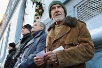 Evžen Seidl na vzpomínkovém setkání u lounské sokolovny 6. ledna 2017 opět připomněl zločiny komunistického režimu. O několik dní později, 17. ledna, zemřel.