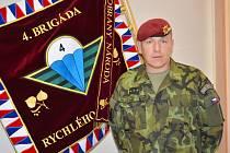 Miroslav Hlaváč je velitelem 4. brigády rychlého nasazení a současně 4. brigádního úkolového uskupení.