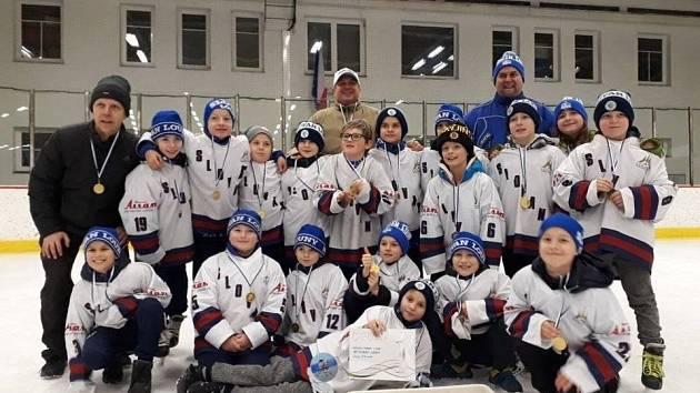 Vítězný tým Slovanu Louny