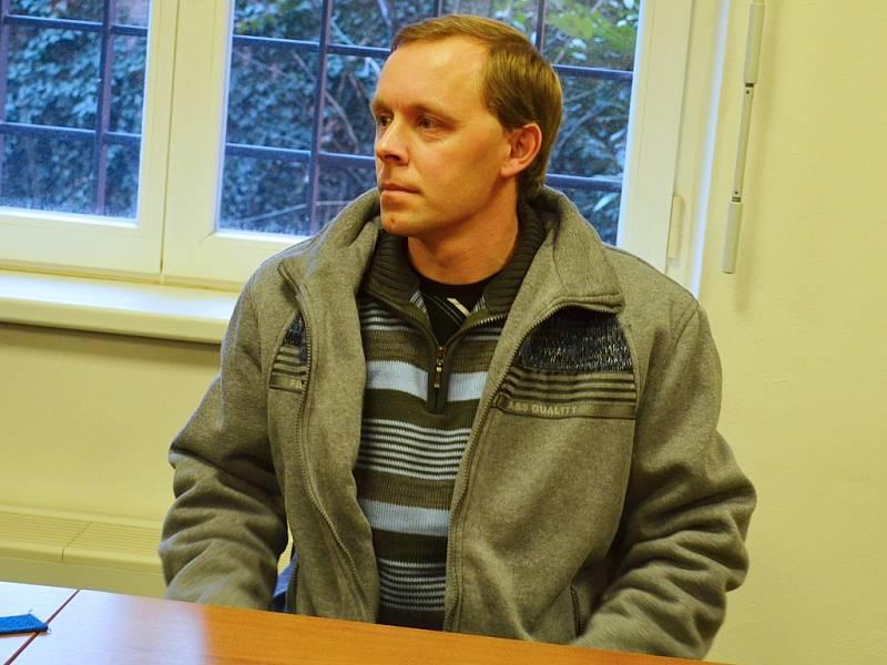 Pavel Paur u soudu v Lounech na archivním snímku.
