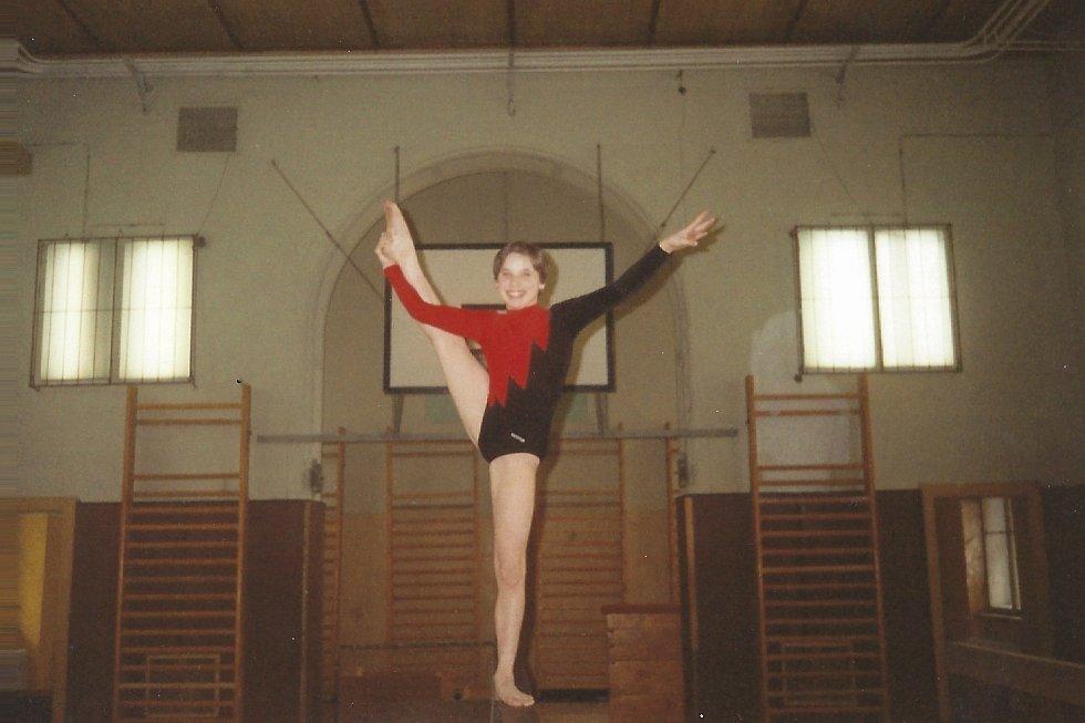 Nela Pihrtová, za mlada Kuncová, v mládežnickém věku