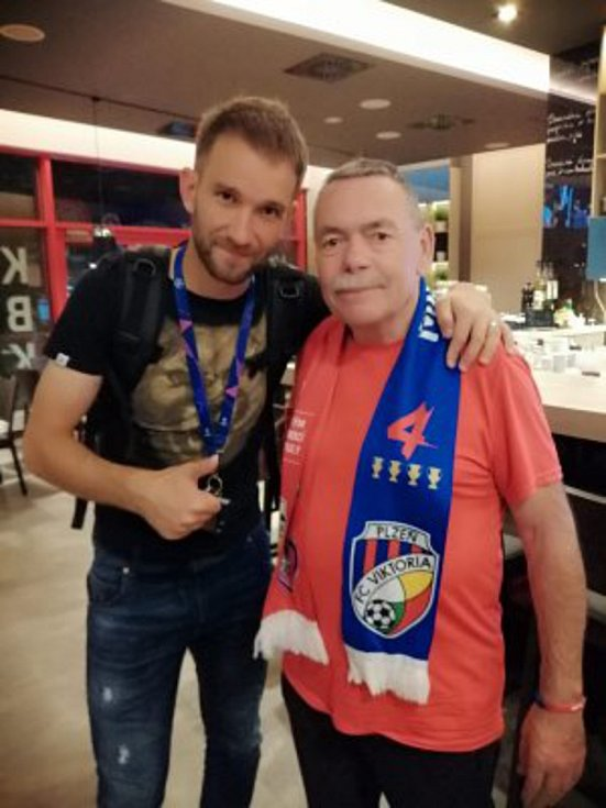 Jaromír Hykl s plzeňským Bakošem
