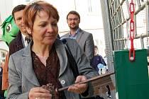 Starostka Žatce Zdeňka Hamousová zahajuje novou turistickou sezonu