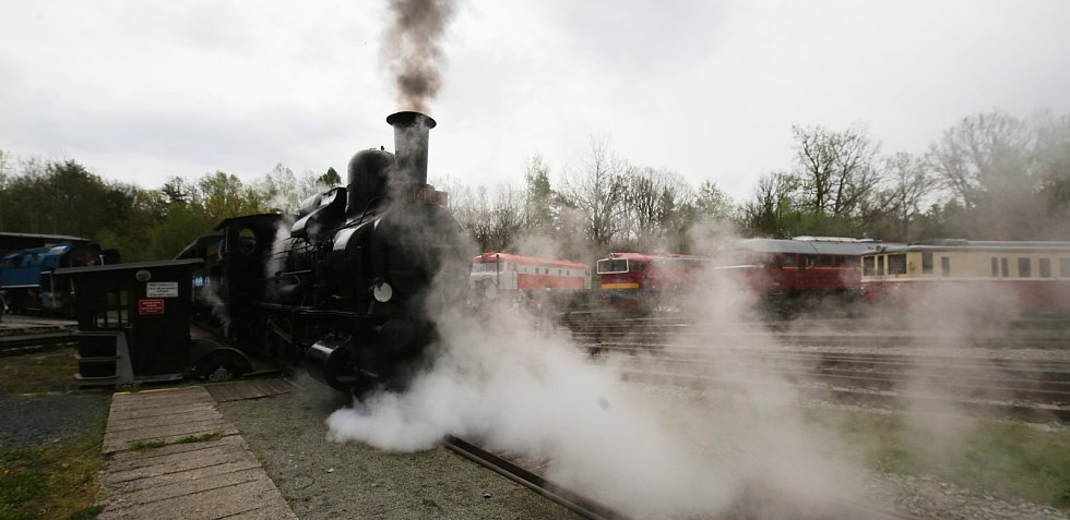 V sobotu 15. května znovu otevřelo železniční muzeum Českých drah v Lužné u Rakovníka.