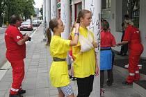 Studenti z podbořanského gymnázia soutěžili v republikovém klání mladých zdravotníků