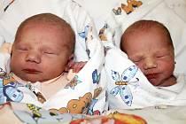 Rodičům Sandře a Jaroslavu Grundovým z Postoloprt se ve slánské porodnici 12. června 2013 narodila krásná dvojčátka. Camilla Grundová (vlevo) vážila 2,63 kilogramu a měřila 46 centimetrů, sestřička Claudie Grundová vážila 2,65 kilogramu a měřila 47 cm