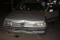 Nabouraný vůz najednou neměl řidiče