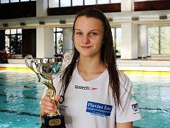 Lenka Bešíková několikrát na Poháru mladšího žactva vyhrála.