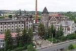 Bývalý Dreherův pivovar v Žatci, kde sídlil podnik Fruta. Objekt má být spolu s dalšími 88 budovami ve městě zapsán do seznamu UNESCO.