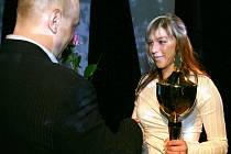 V kategorii jednotlivců mládeže za rok 2007 vybojovala zlato cyklistka CK Lucas Frames Blšany Lucie Záleská, cenu jí předal také ředitel akce Roman Šimon.