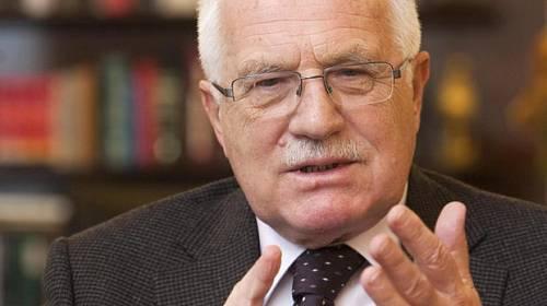 Prezident Václav Klaus: Měl jsem na syny čas a to ovlivnilo náš vztah