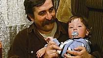 Lukáš Pelánek se svým filmovým tátou Júliem Satinským