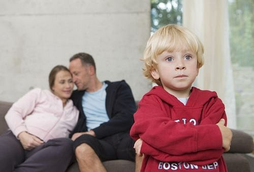 Rodiče s chlapcem