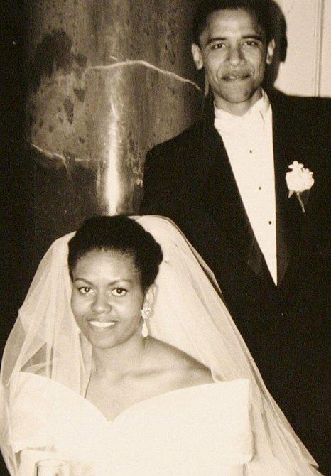 Svatba Baracka a Michelle - 18. říjen 1992