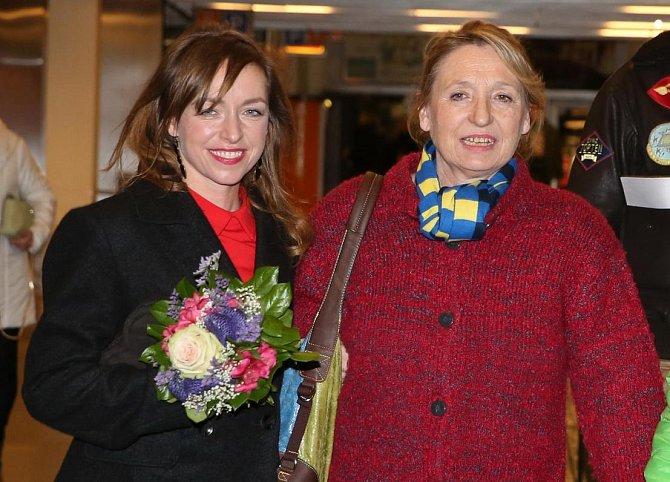 Tatiana Vilhelmová s maminkou Karlou Winklerovou