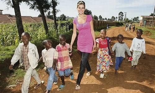 Iveta Lutovská v Keni