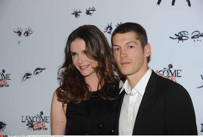Alessandra s manželem