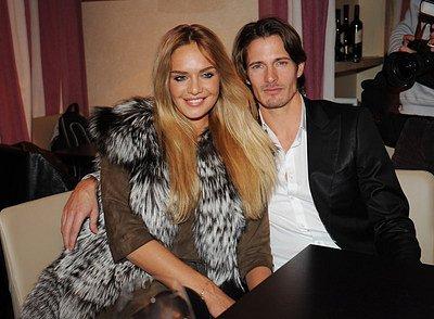 Táňa Kuchařová s přítelem