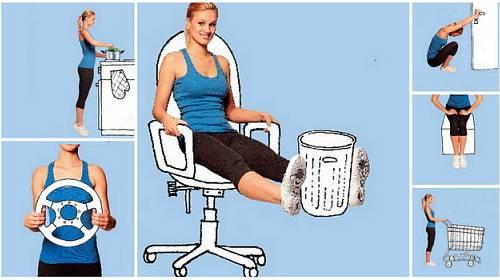 Lekce cvičení pro všední dny