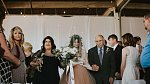 Téměř všichni svatebčané plakali dojetím, byl to opravdu silný moment!