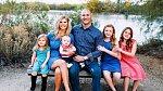 Anthony se svou rodinou, která mu byla oporou.