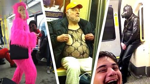 Fotogalerie: NEJPŘÍŠERNĚJŠÍ UCHYLOVÉ, na které můžete narazit v metru