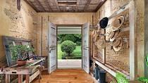 """Dům v Austrálii je oázou klidu. Je zařízený ve venkovském stylu, pohrává si s """"nedbalou elegancí"""", sází na přírodní materiály a je velkorysý na prostor."""