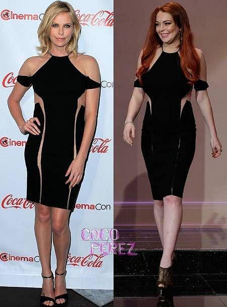 Charilze Theron a Lindsay Lohan