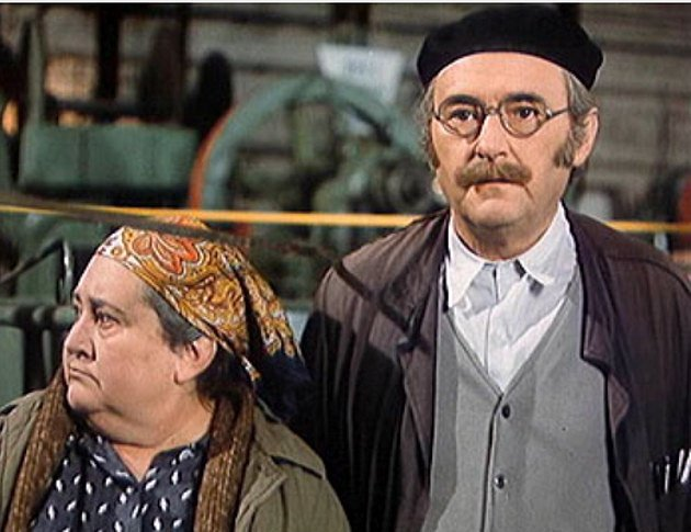 Marie Motlová a Jiří Sovák v komedii Marečku, podejte mi pero!