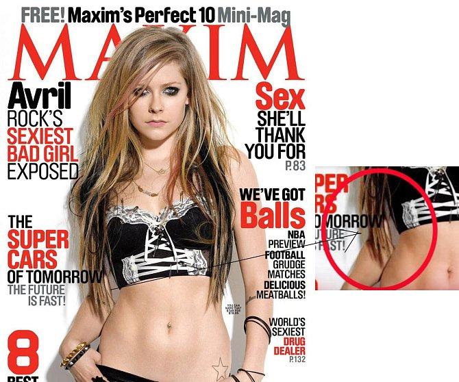 Avril Lavigne - obálka časopisu Maxim