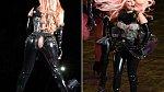 Obleček Lady Gaga byl tak upnutý, že nevydržel její nadšení
