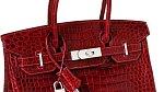 Kabelka - 203 000 dolarů: Tento sběratelský kousek je považován za nejdražší kabelku na světě. Jde o ručně vyráběný kousek z pravé krokodýlí kůže z dílny Hermes.