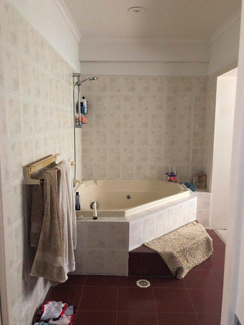 Koupelna prošla úžasnou proměnou.