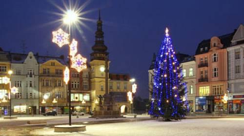 Vánoční výzdoba měst