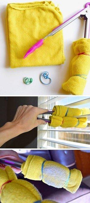 Zkuste použít, co doma najdete - například grilovací kleště.