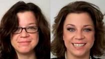 Z Popelky královnou: 26 úžasných zcela přirozených proměn žen po 40. Jen pomocí účesu a make-upu!