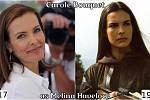 Herečka Carole Bouquet coby Melina Havelock