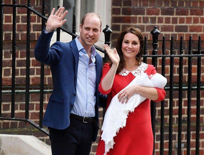 Kate už pár hodin po porodu doslova zářila.