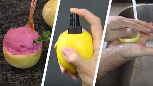 """8 neuvěřitelných triků do domácnosti, které dokážete s """"obyčejným"""" citrónem"""